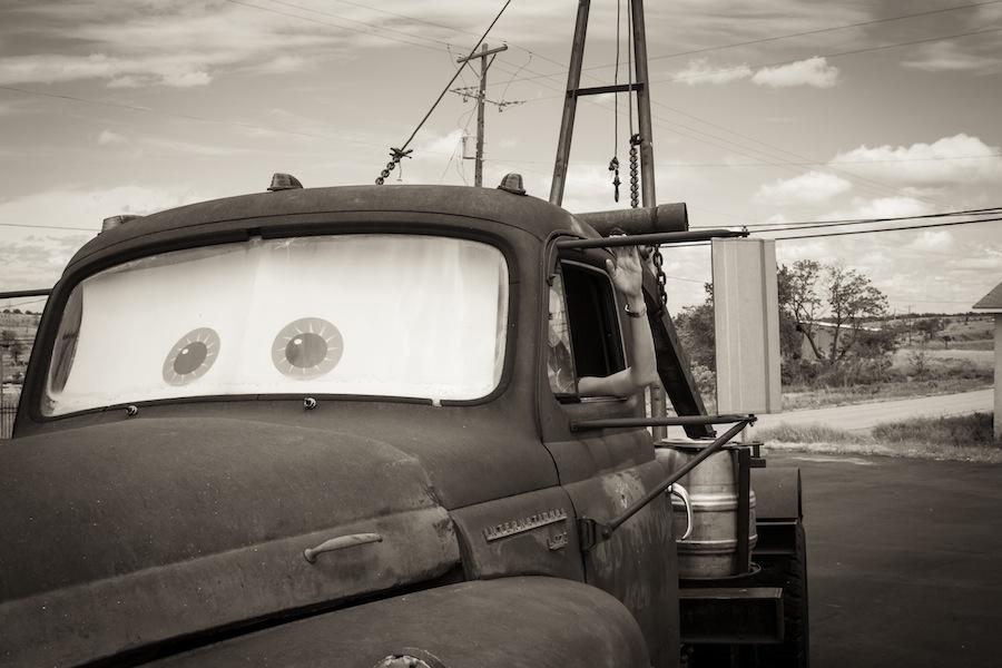 Zum Reinsetzen: Original Tow Mater in Galena, Kansas