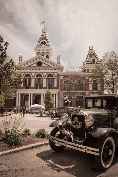 Pontiac besitzt eines der schönsten Courthouses an der 66.