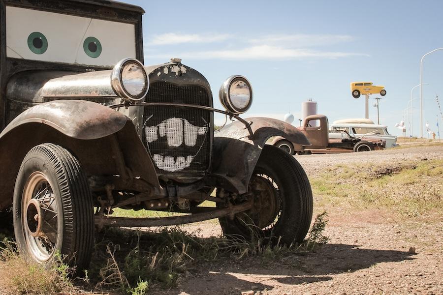 Beim Auto Museum in Santa Rosa, New Mexico