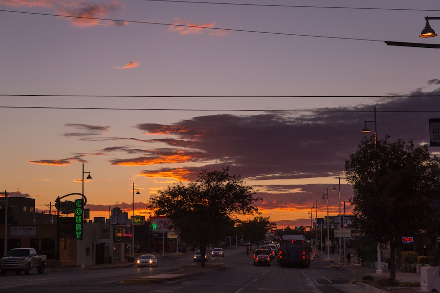 08 sunset-on-central-abq