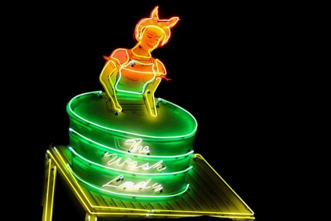 45 wash neon